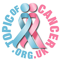 Topic of Cancer Charity Company Logo